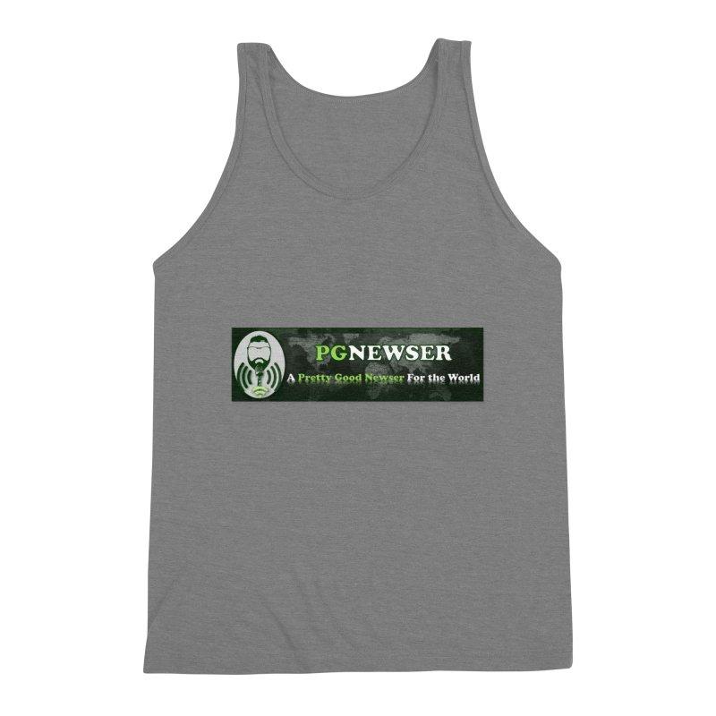 PG Newser Label Men's Tank by PGMercher  - A Pretty Good Merch Shop
