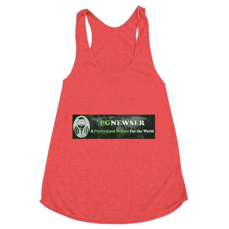 PG Newser Label Women's Tank by PGMercher  - A Pretty Good Merch Shop