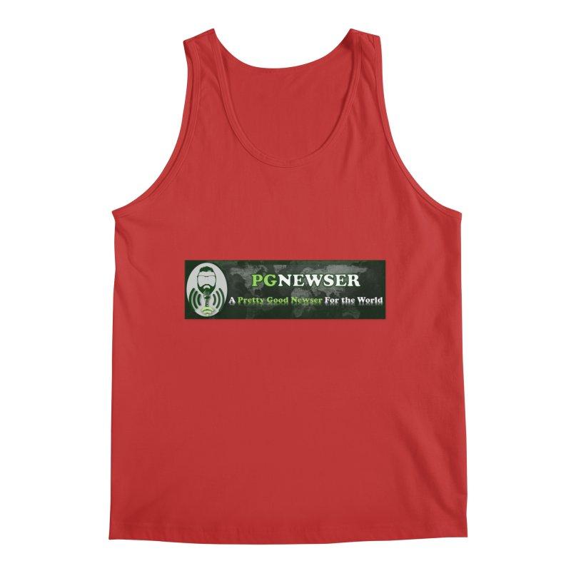 PG Newser Label Men's Regular Tank by PGMercher  - A Pretty Good Merch Shop