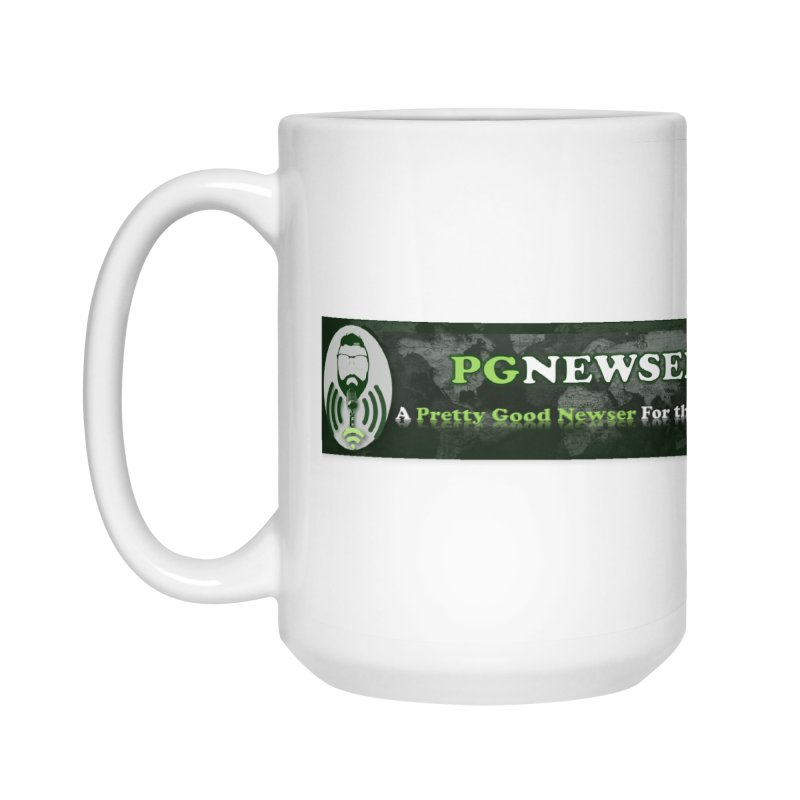 PG Newser Label Accessories Mug by PGMercher  - A Pretty Good Merch Shop
