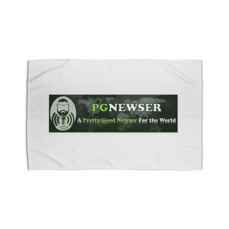 PG Newser Label Home Rug by PGMercher  - A Pretty Good Merch Shop