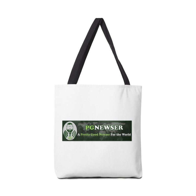 PG Newser Label Accessories Tote Bag Bag by PGMercher  - A Pretty Good Merch Shop