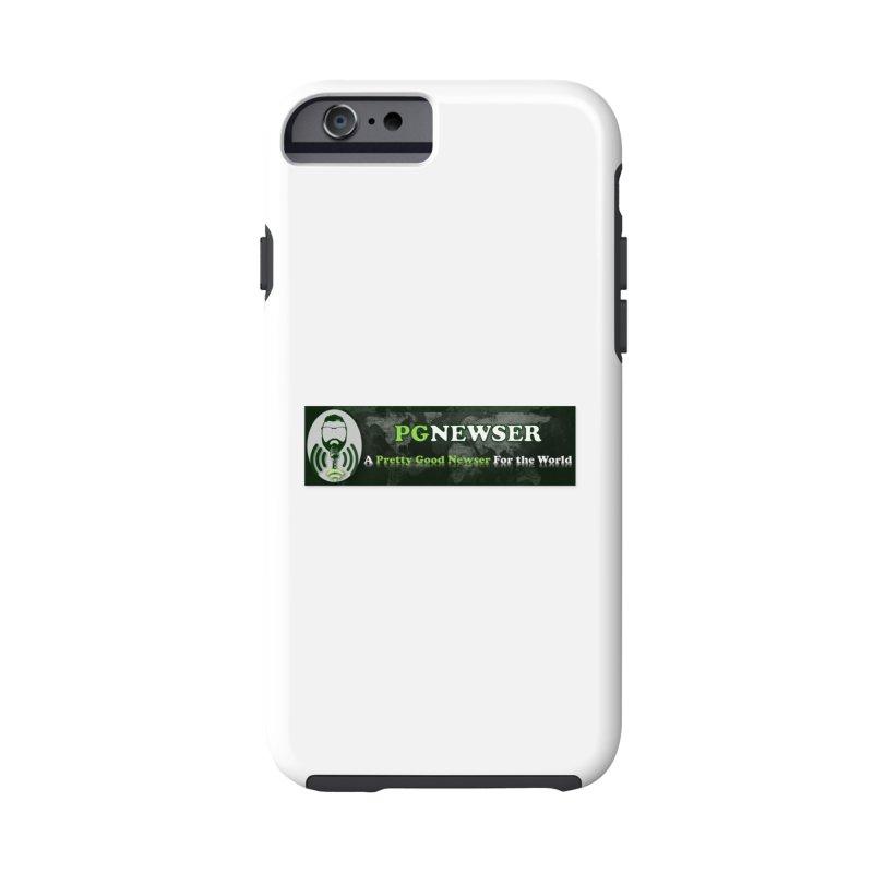 PG Newser Label Accessories Phone Case by PGMercher  - A Pretty Good Merch Shop
