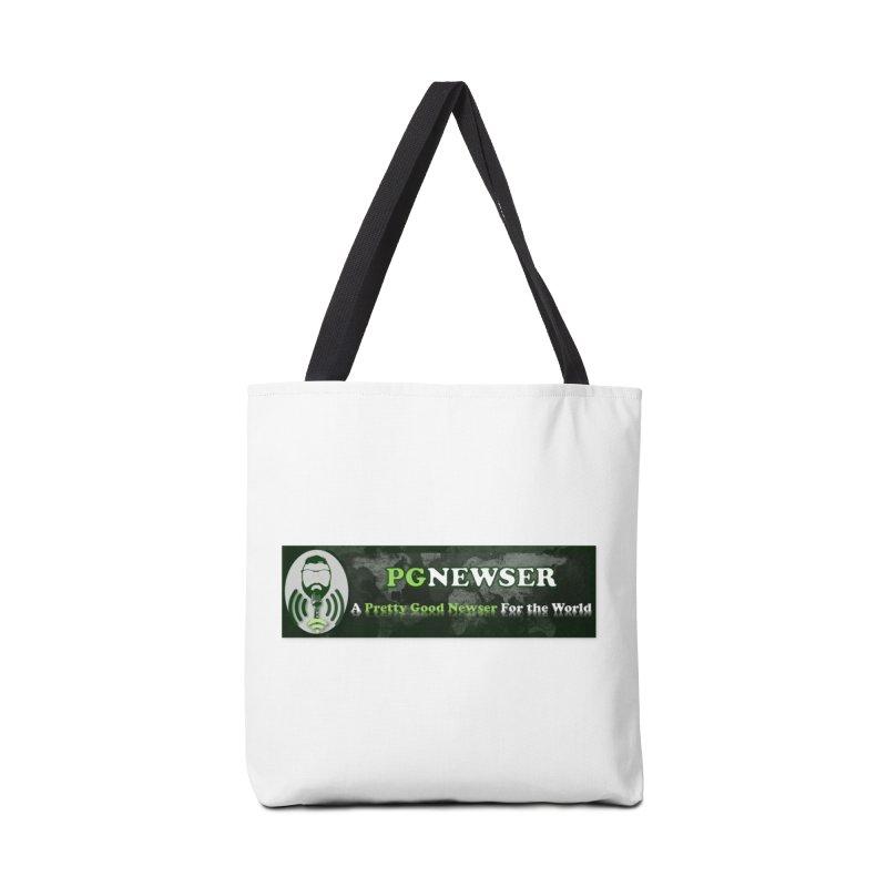 PG Newser Label Accessories Bag by PGMercher  - A Pretty Good Merch Shop