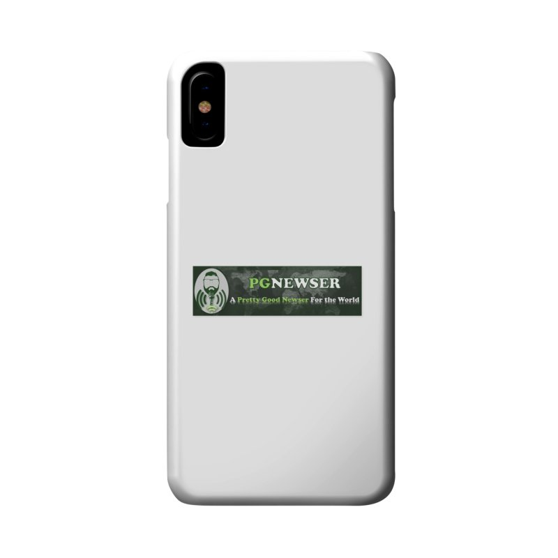 PG Newser Label Accessories Phone Case by PGMercher  - A Pretty Good Merch Shop