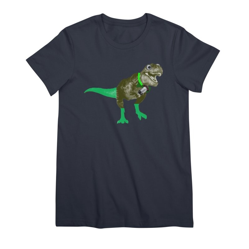 Lulzard the Lulzilla Lizard Women's Premium T-Shirt by PGMercher  - A Pretty Good Merch Shop