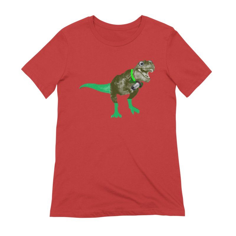 Lulzard the Lulzilla Lizard Women's Extra Soft T-Shirt by PGMercher  - A Pretty Good Merch Shop