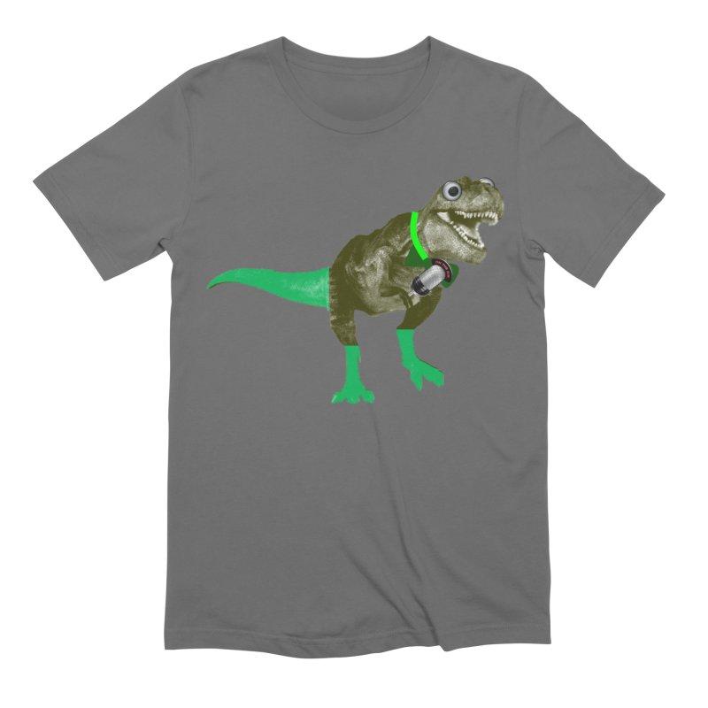 Lulzard the Lulzilla Lizard Men's Extra Soft T-Shirt by PGMercher  - A Pretty Good Merch Shop
