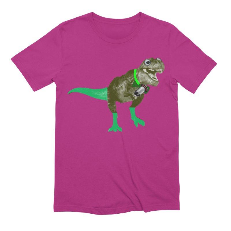 Lulzard the Lulzilla Lizard Men's T-Shirt by PGMercher  - A Pretty Good Merch Shop