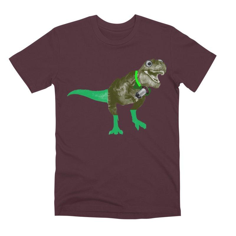 Lulzard the Lulzilla Lizard Men's Premium T-Shirt by PGMercher  - A Pretty Good Merch Shop