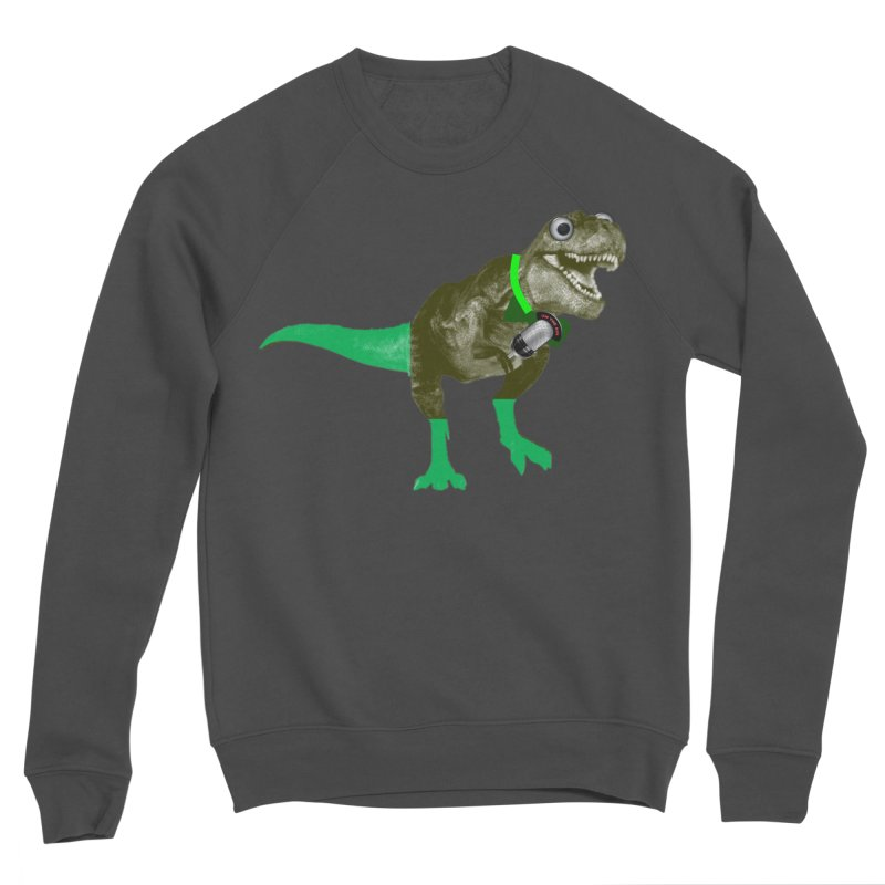 Lulzard the Lulzilla Lizard Women's Sponge Fleece Sweatshirt by PGMercher  - A Pretty Good Merch Shop