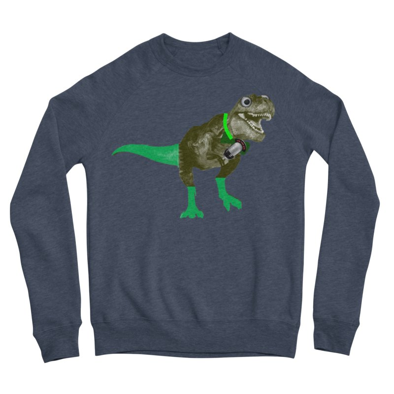 Lulzard the Lulzilla Lizard Men's Sponge Fleece Sweatshirt by PGMercher  - A Pretty Good Merch Shop