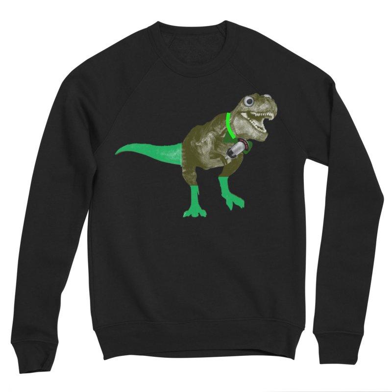 Lulzard the Lulzilla Lizard Women's Sponge Fleece Sweatshirt by PGMercher  - A Pretty Good Merch Shop