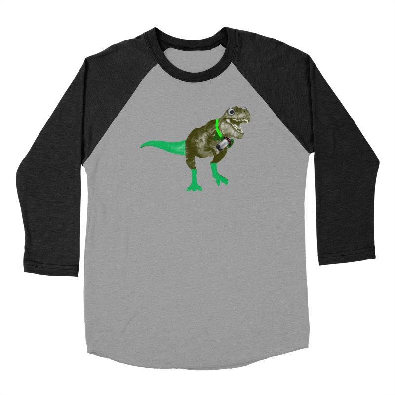 Lulzard the Lulzilla Lizard Women's Baseball Triblend Longsleeve T-Shirt by PGMercher  - A Pretty Good Merch Shop