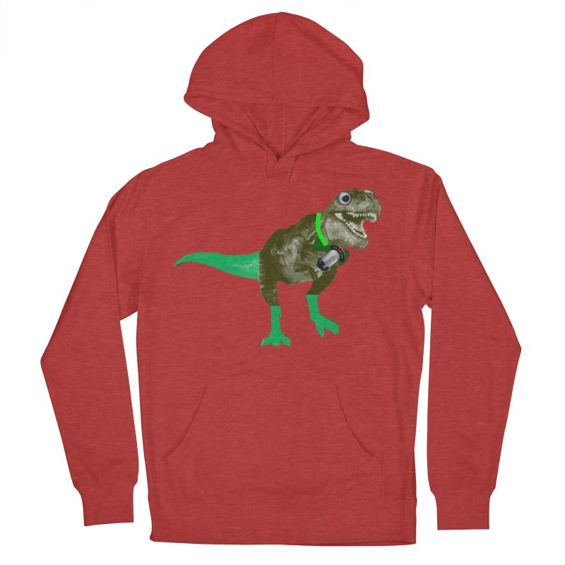 Lulzard the Lulzilla Lizard Women's French Terry Pullover Hoody by PGMercher  - A Pretty Good Merch Shop