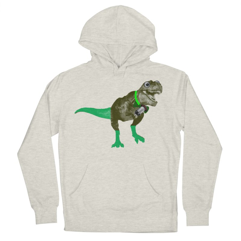 Lulzard the Lulzilla Lizard Men's French Terry Pullover Hoody by PGMercher  - A Pretty Good Merch Shop