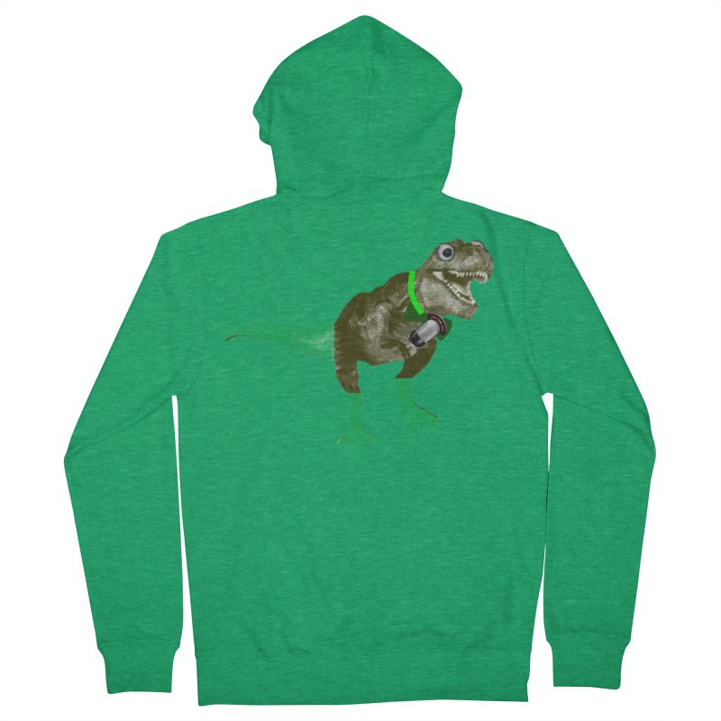 Lulzard the Lulzilla Lizard Women's Zip-Up Hoody by PGMercher  - A Pretty Good Merch Shop