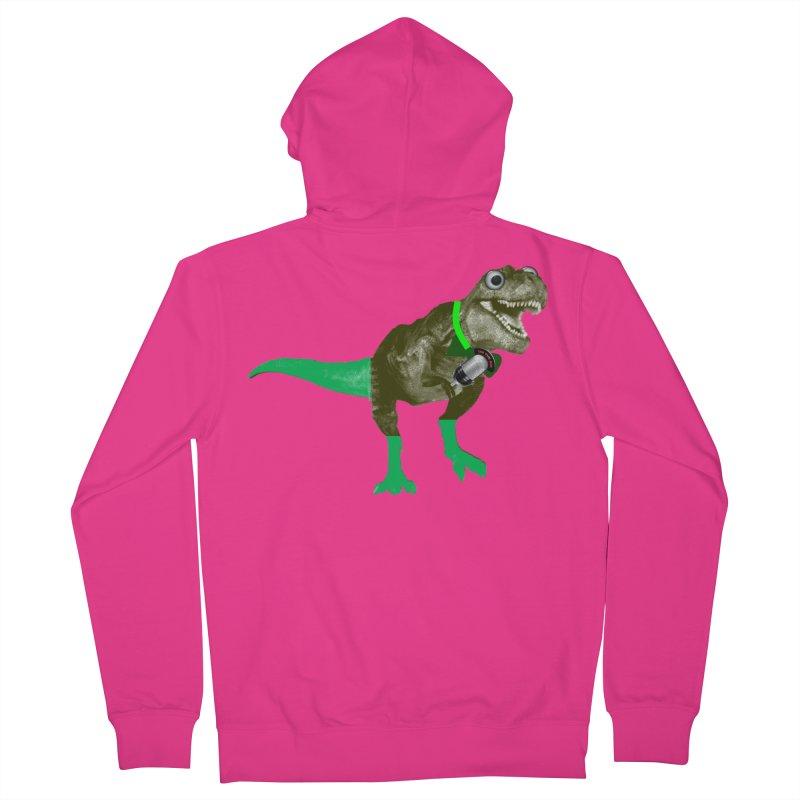 Lulzard the Lulzilla Lizard Men's Zip-Up Hoody by PGMercher  - A Pretty Good Merch Shop