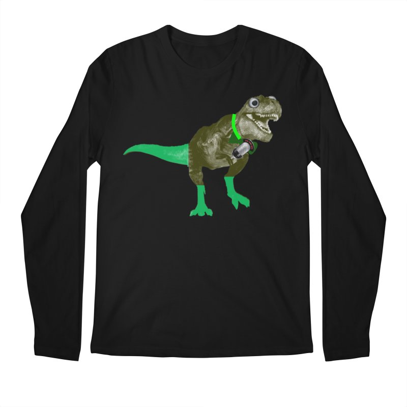 Lulzard the Lulzilla Lizard Men's Longsleeve T-Shirt by PGMercher  - A Pretty Good Merch Shop