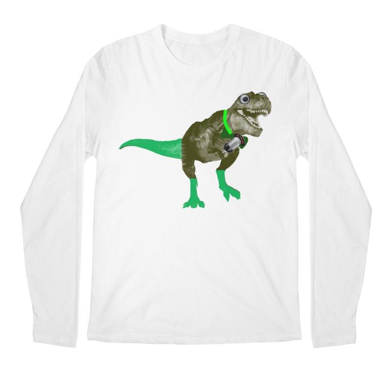 Lulzard the Lulzilla Lizard Men's Regular Longsleeve T-Shirt by PGMercher  - A Pretty Good Merch Shop