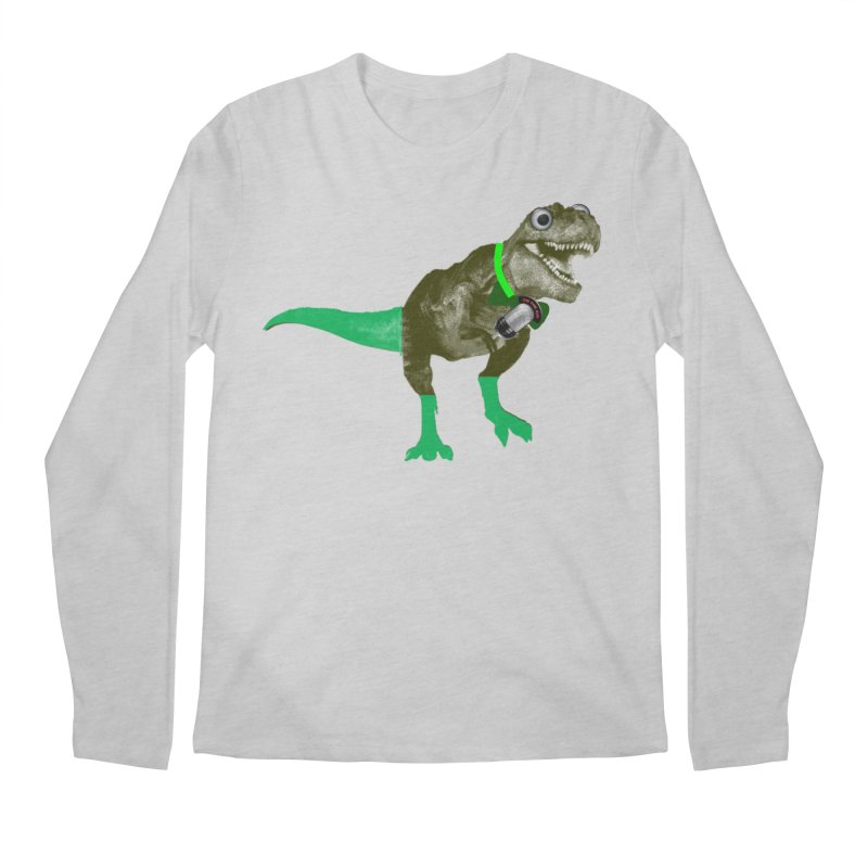 Lulzard the Lulzilla Lizard Men's Regular Longsleeve T-Shirt by PGMercher  - A Pretty Good Merch Shop