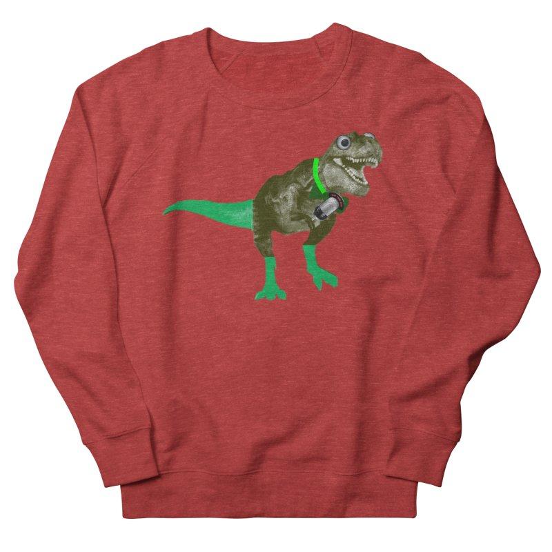 Lulzard the Lulzilla Lizard Women's French Terry Sweatshirt by PGMercher  - A Pretty Good Merch Shop