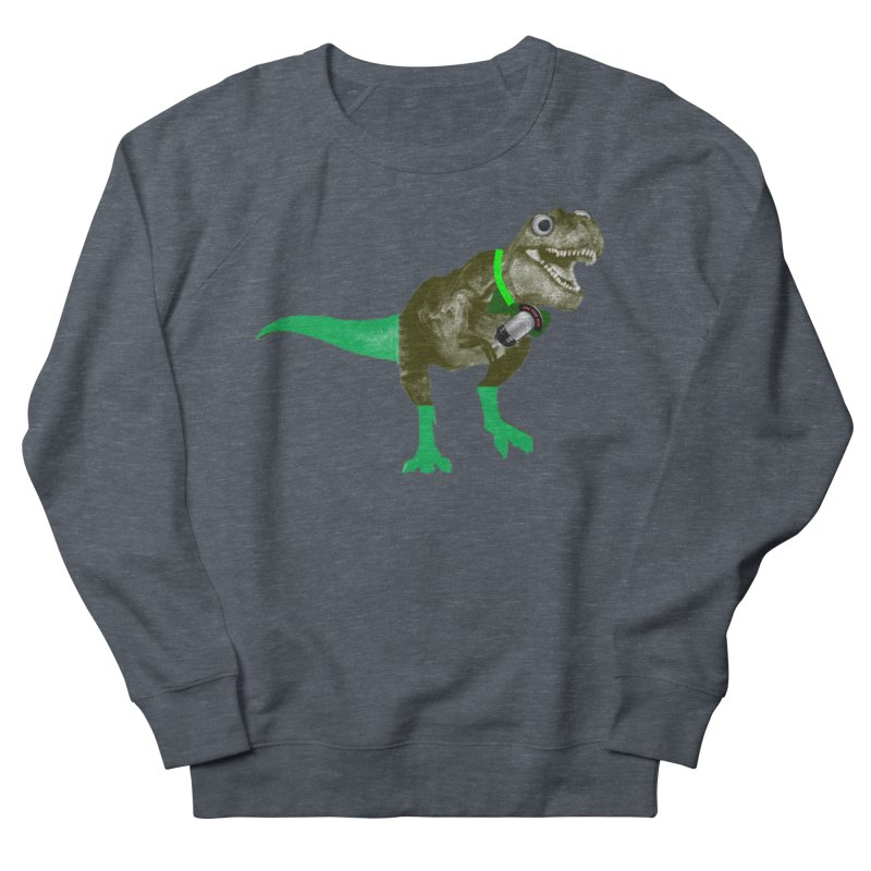 Lulzard the Lulzilla Lizard Men's French Terry Sweatshirt by PGMercher  - A Pretty Good Merch Shop