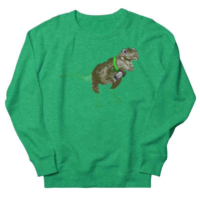 Lulzard the Lulzilla Lizard Men's French Terry Sweatshirt by PGMercher  - A Pretty Good Merch Shop
