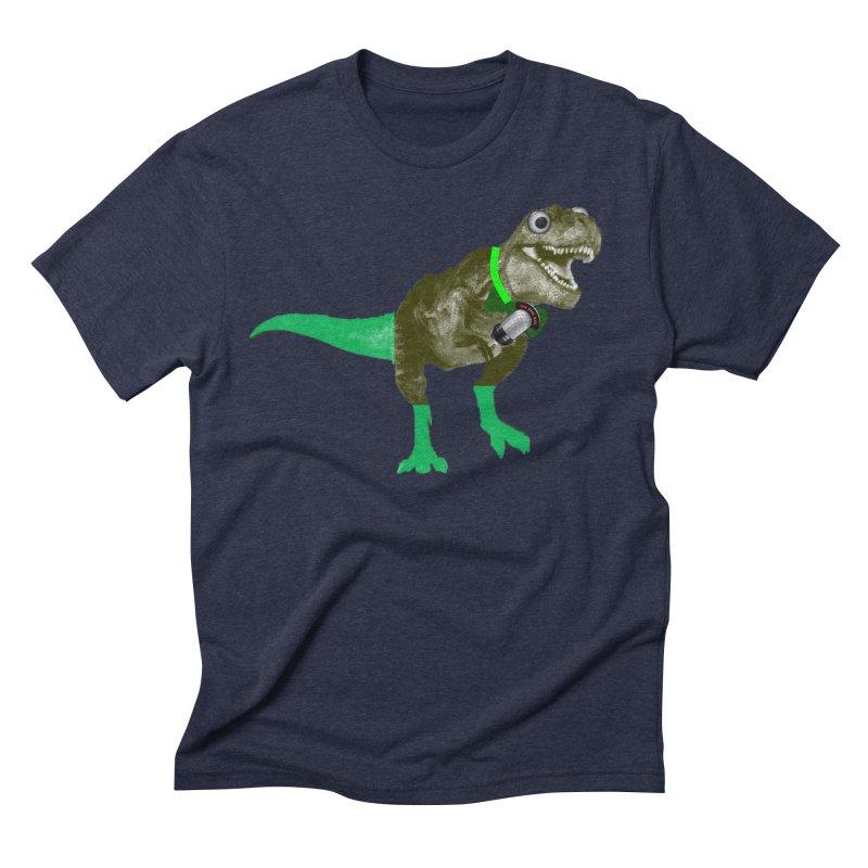 Lulzard the Lulzilla Lizard Men's Triblend T-Shirt by PGMercher  - A Pretty Good Merch Shop
