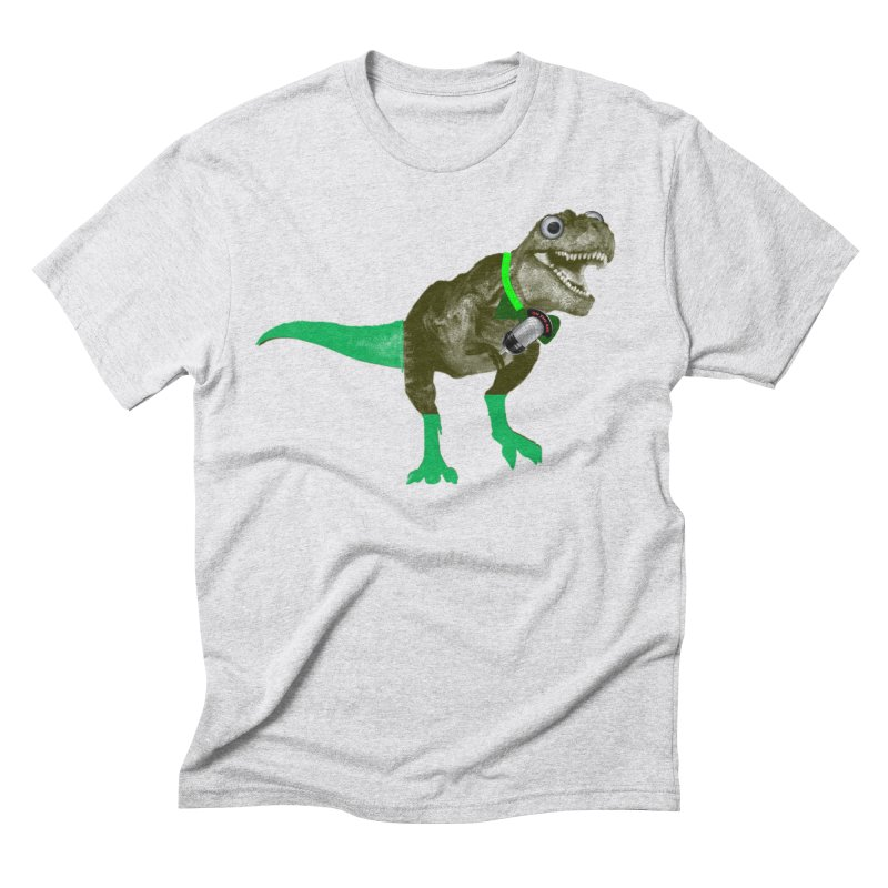 Lulzard the Lulzilla Lizard Men's Triblend T-Shirt by PGMercher  - A Pretty Good Merch Shop