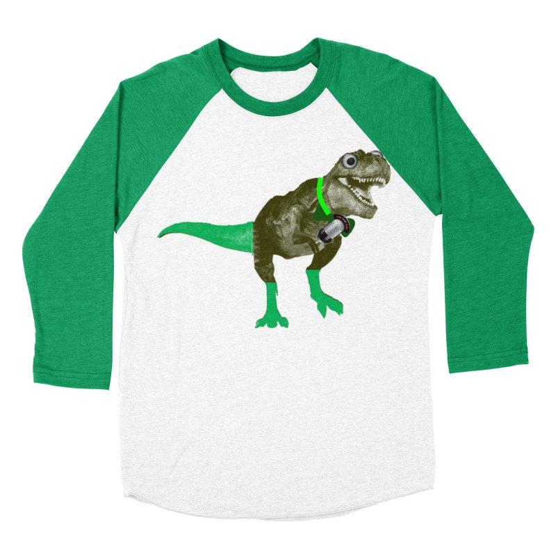 Lulzard the Lulzilla Lizard Women's Baseball Triblend Longsleeve T-Shirt by PGMercher  - A Pretty Good Merch Shop