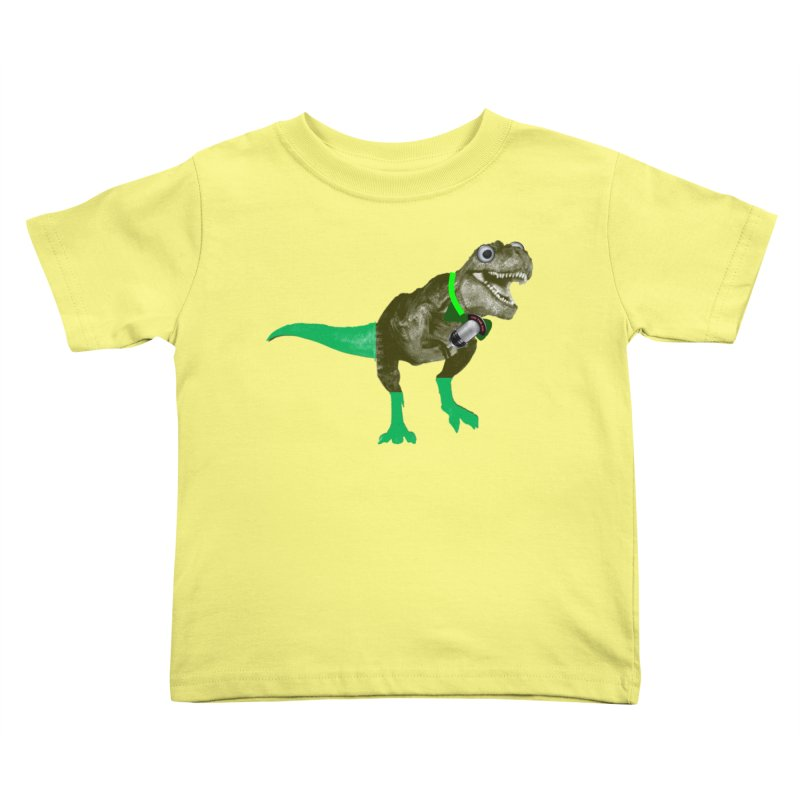 Lulzard the Lulzilla Lizard Kids Toddler T-Shirt by PGMercher  - A Pretty Good Merch Shop