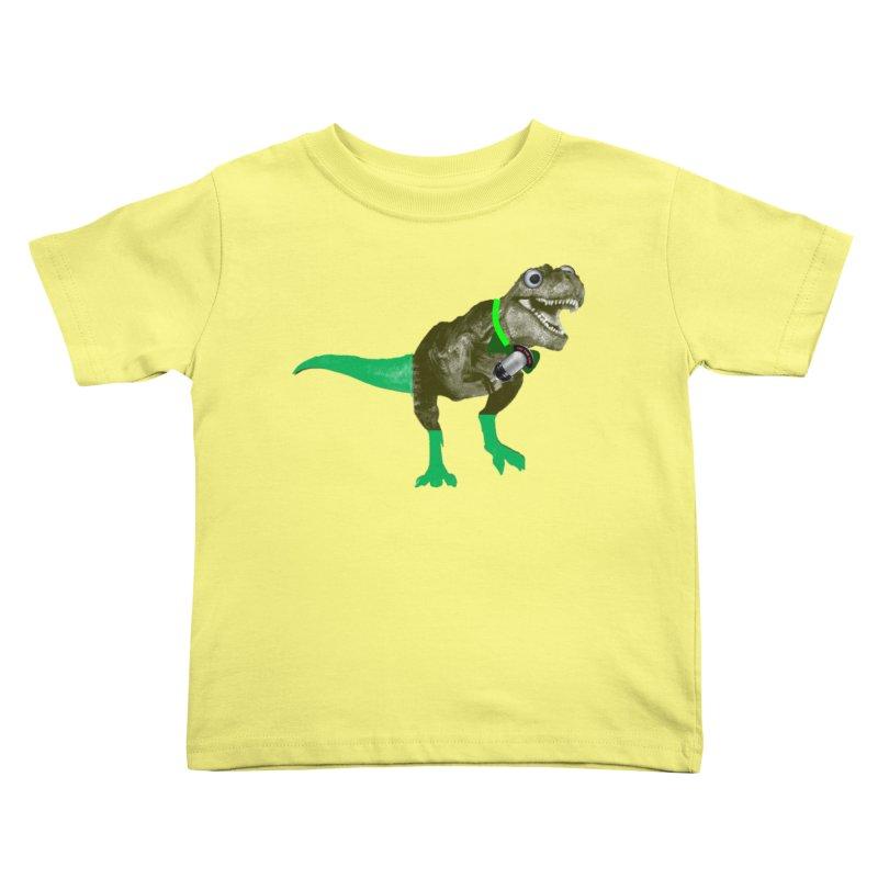 Lulzard the Lulzilla Lizard Kids Toddler T-Shirt by PGMercher  - A Pretty Good Merch Shop