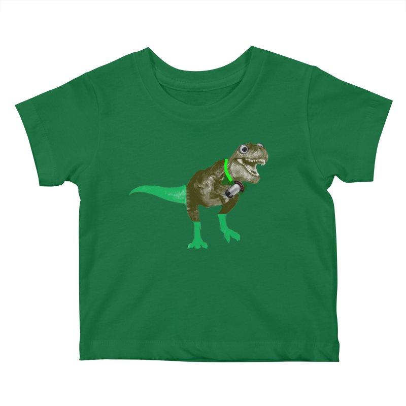 Lulzard the Lulzilla Lizard Kids Baby T-Shirt by PGMercher  - A Pretty Good Merch Shop
