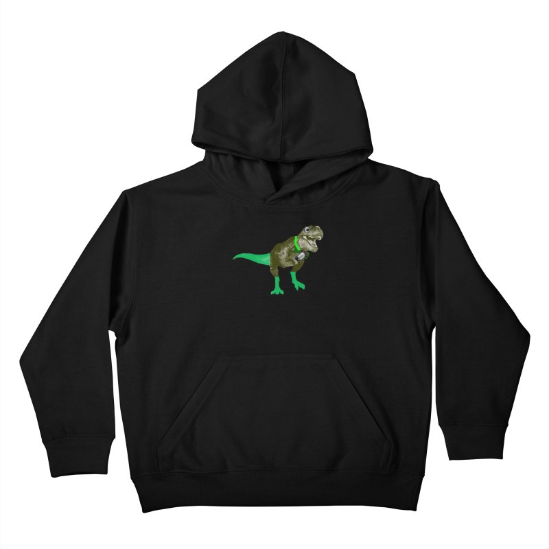 Lulzard the Lulzilla Lizard Kids Pullover Hoody by PGMercher  - A Pretty Good Merch Shop