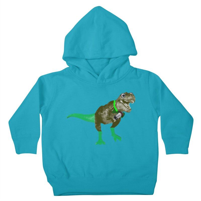 Lulzard the Lulzilla Lizard Kids Toddler Pullover Hoody by PGMercher  - A Pretty Good Merch Shop