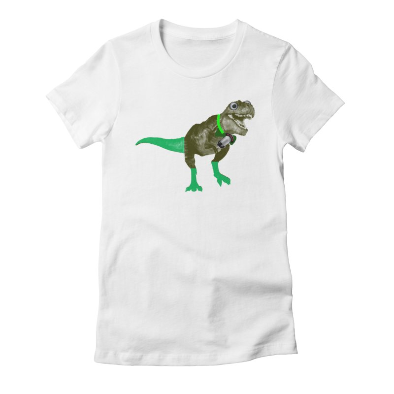 Lulzard the Lulzilla Lizard Women's Fitted T-Shirt by PGMercher  - A Pretty Good Merch Shop