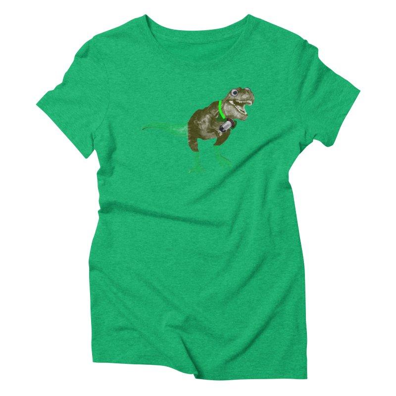 Lulzard the Lulzilla Lizard Women's Triblend T-Shirt by PGMercher  - A Pretty Good Merch Shop