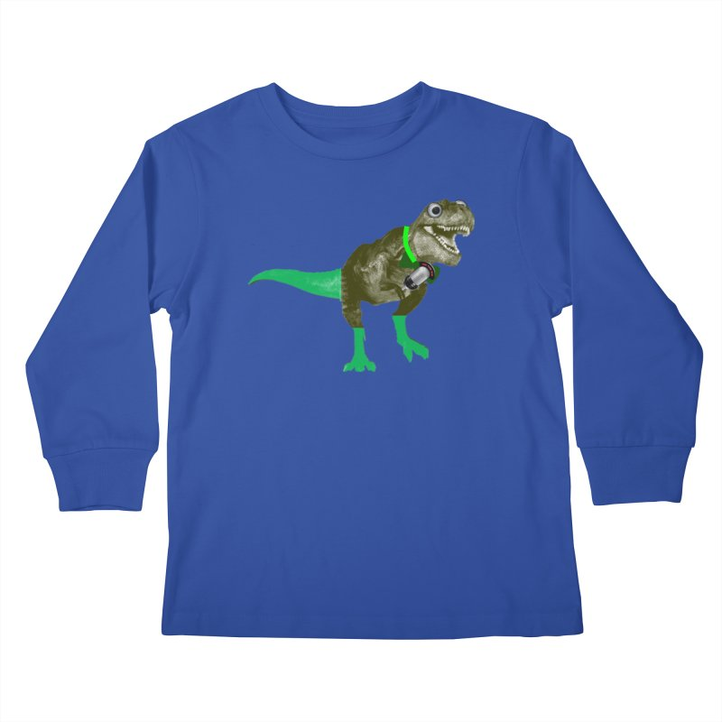 Lulzard the Lulzilla Lizard Kids Longsleeve T-Shirt by PGMercher  - A Pretty Good Merch Shop