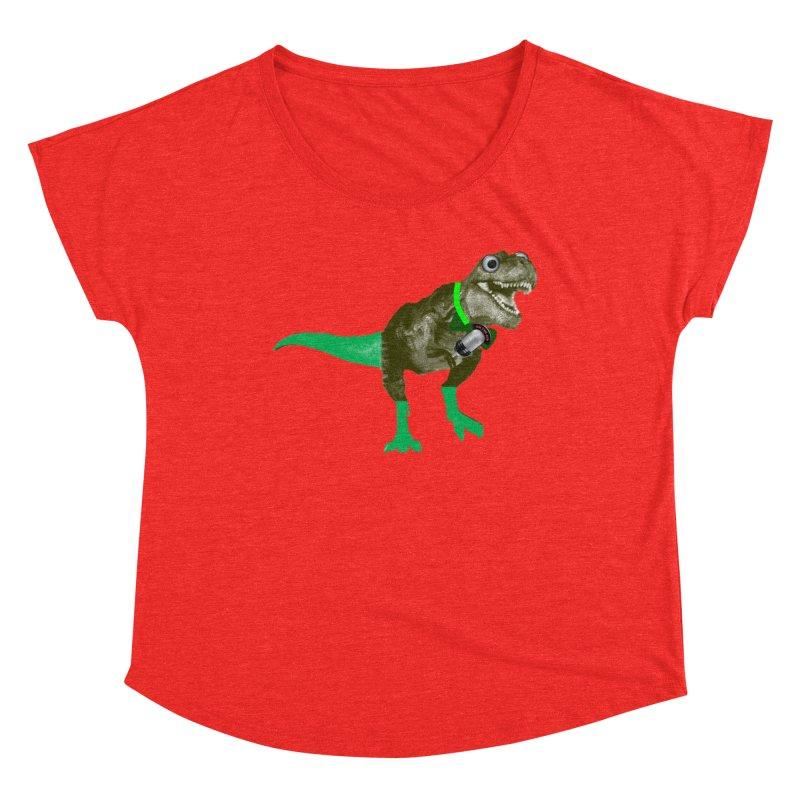 Lulzard the Lulzilla Lizard Women's Scoop Neck by PGMercher  - A Pretty Good Merch Shop