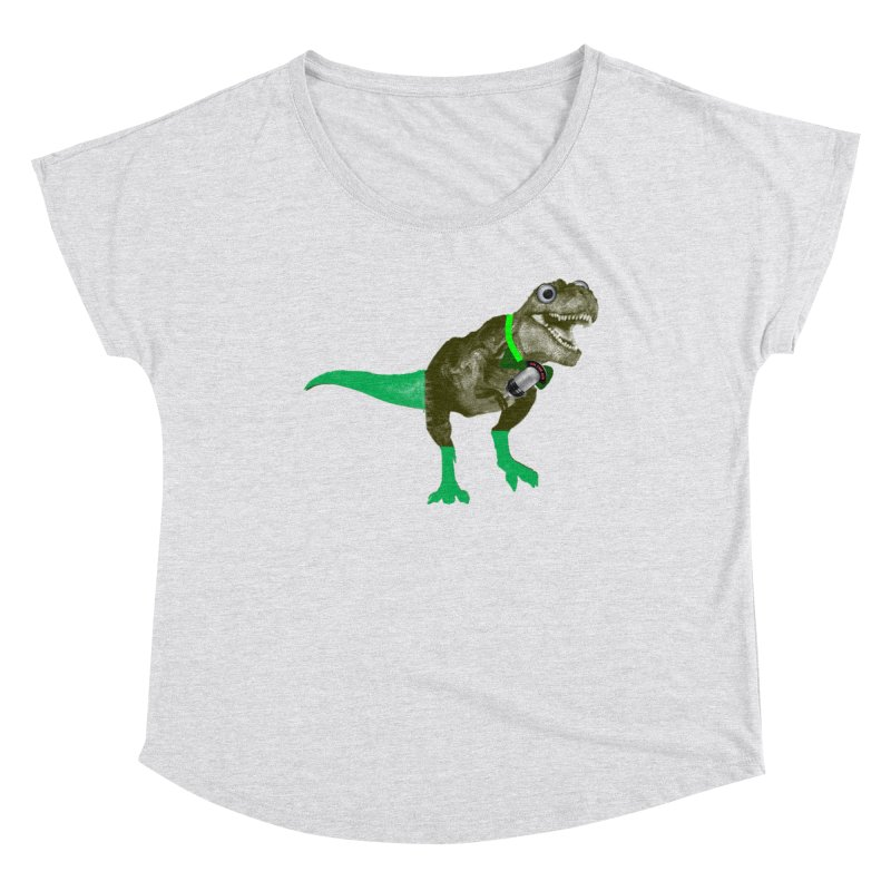 Lulzard the Lulzilla Lizard Women's Scoop Neck by PGMercher  - A Pretty Good Merch Shop