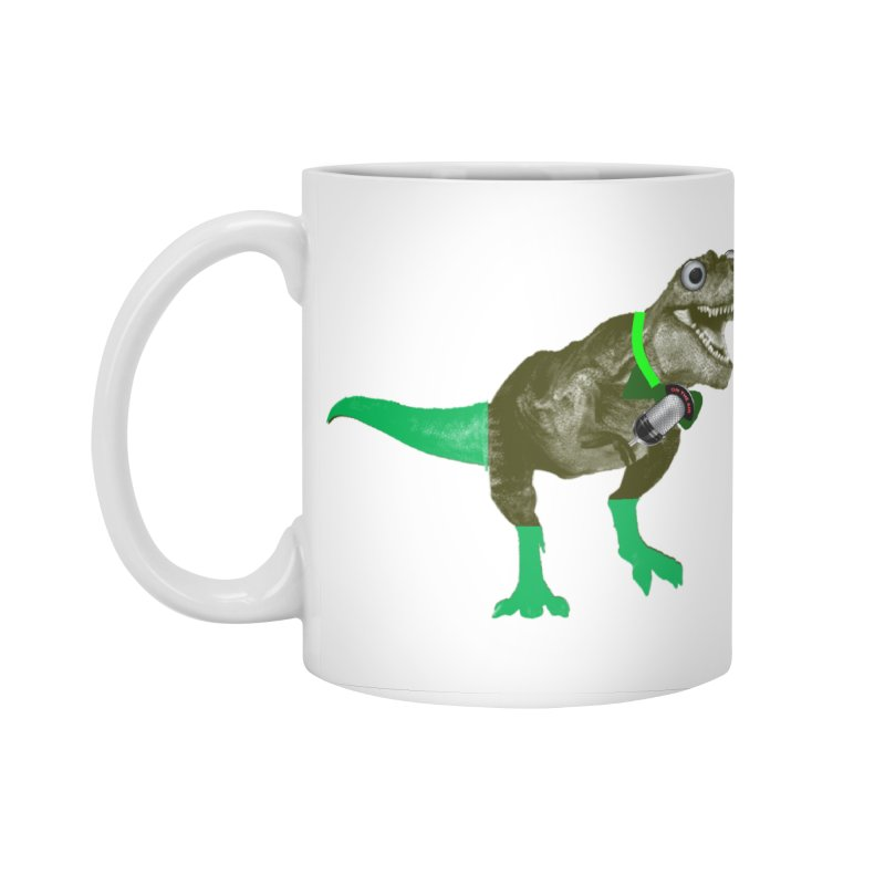 Lulzard the Lulzilla Lizard Accessories Standard Mug by PGMercher  - A Pretty Good Merch Shop