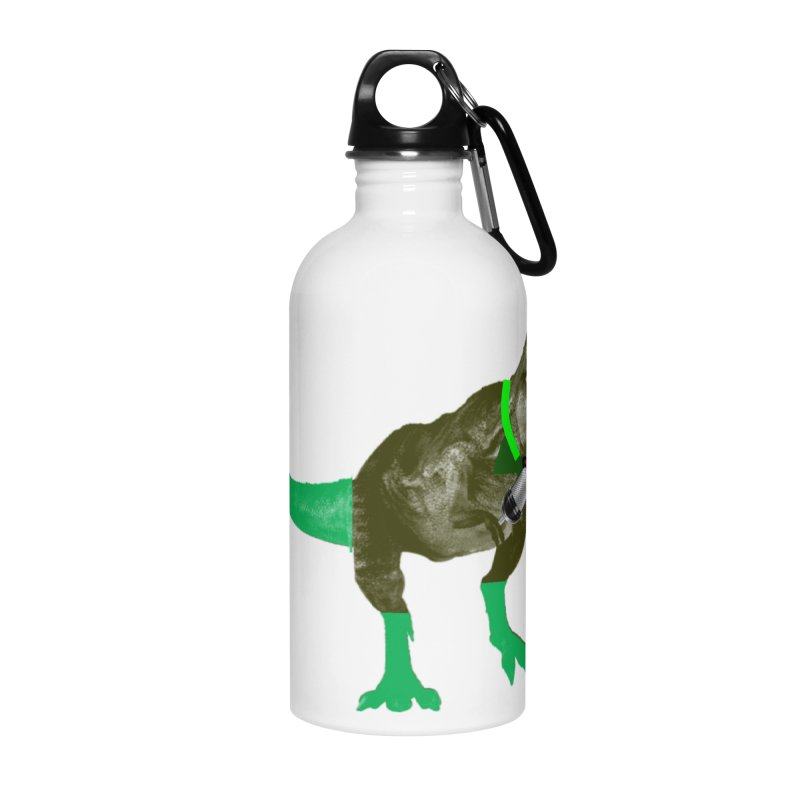 Lulzard the Lulzilla Lizard Accessories Water Bottle by PGMercher  - A Pretty Good Merch Shop