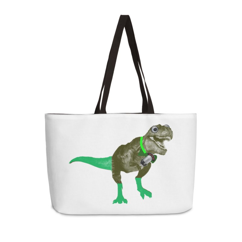 Lulzard the Lulzilla Lizard Accessories Weekender Bag Bag by PGMercher  - A Pretty Good Merch Shop