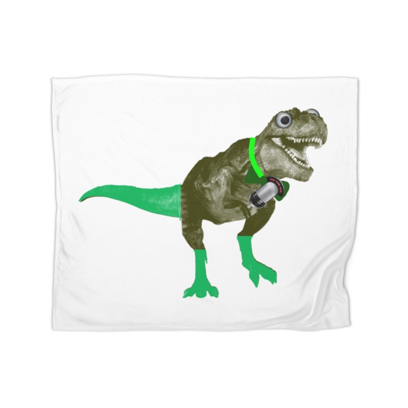 Lulzard the Lulzilla Lizard Home Blanket by PGMercher  - A Pretty Good Merch Shop