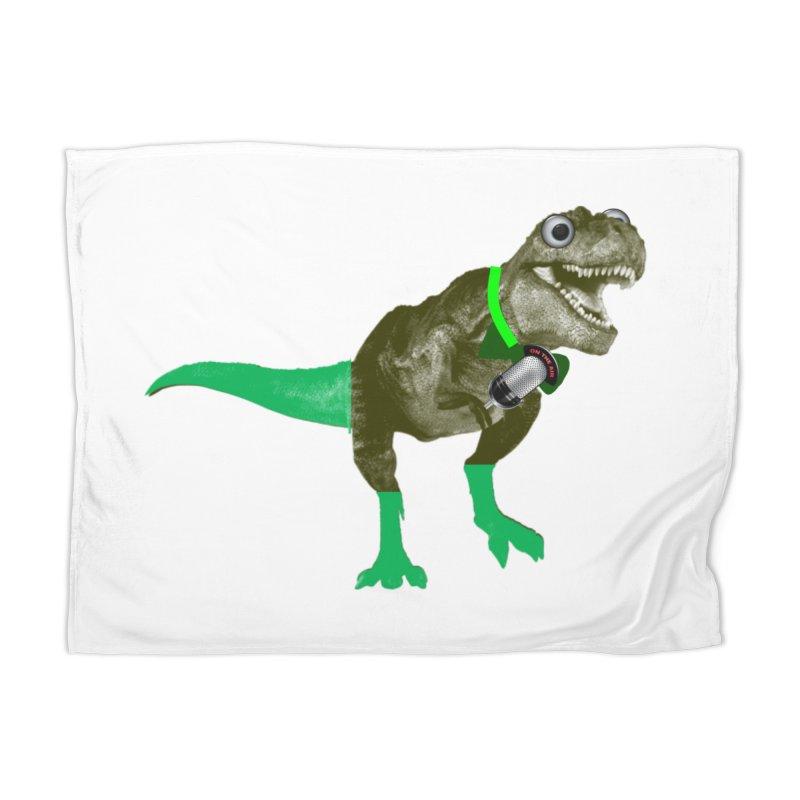 Lulzard the Lulzilla Lizard Home Blanket by PGMercher  - A Pretty Good Merch Shop