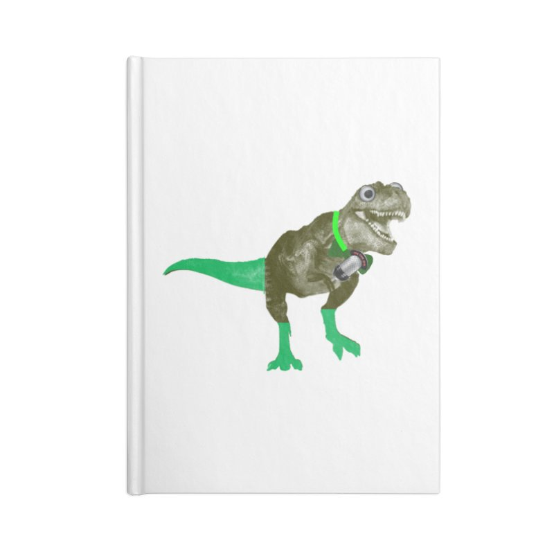 Lulzard the Lulzilla Lizard Accessories Blank Journal Notebook by PGMercher  - A Pretty Good Merch Shop