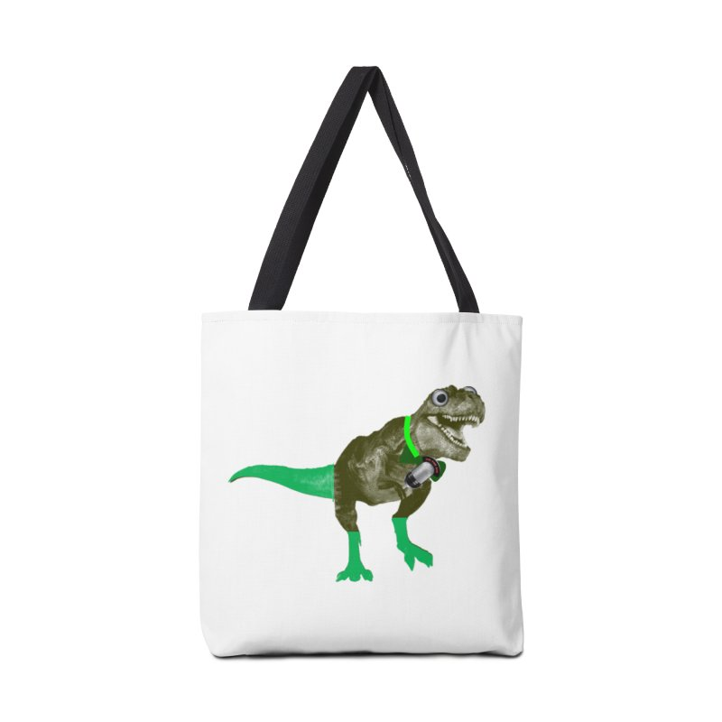 Lulzard the Lulzilla Lizard Accessories Tote Bag Bag by PGMercher  - A Pretty Good Merch Shop