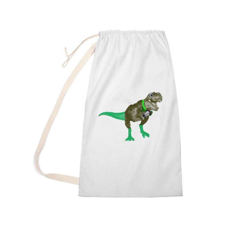 Lulzard the Lulzilla Lizard Accessories Laundry Bag Bag by PGMercher  - A Pretty Good Merch Shop