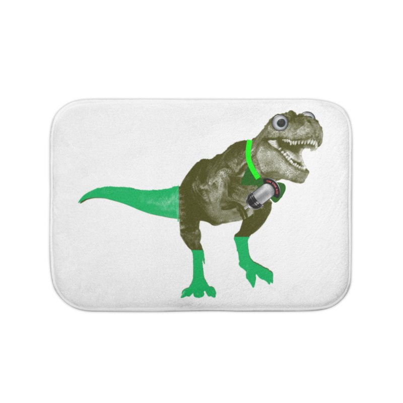 Lulzard the Lulzilla Lizard Home Bath Mat by PGMercher  - A Pretty Good Merch Shop